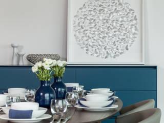 Dining room by Studio K Design, Modern