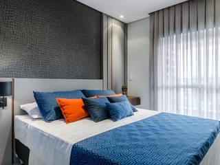 ห้องนอน โดย NATASHA PEREIRA ARQUITETURA, โมเดิร์น