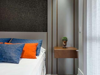 Bedroom by NATASHA PEREIRA ARQUITETURA, Modern