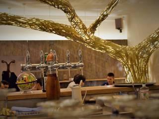 Déambulons Dining roomLighting Bambu