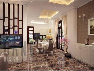 DCOR Asian corridor, hallway & stairs