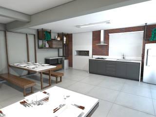 Espaço Multiuso por Bruna Torres Arquitetura + Interiores Moderno