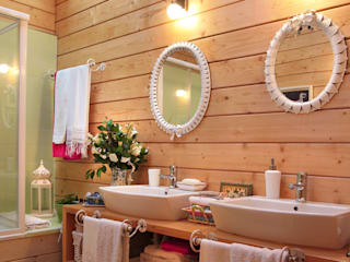 RUSTICASA 浴室 實木 Wood effect