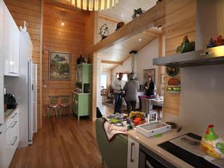 RUSTICASA 系統廚具 實木 Wood effect