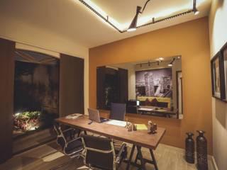 Fabiano Marques Edificações e Design de Interiores Minimalst style study/office