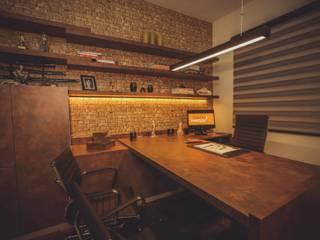 Diretoria: Escritórios  por Fabiano Marques Edificações e Design de Interiores