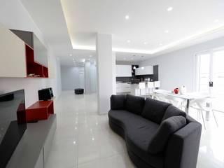 Salas de estilo minimalista de yesHome Minimalista