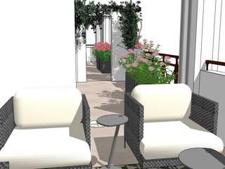 Réfection de terrasses à Divonne-Les-Bains par Adrien Grenard
