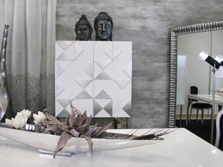 SALA DE JANTAR GREY: Salas de jantar  por Glim - Design de Interiores