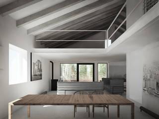 130_Attico in centro storico: Case in stile in stile Moderno di MIDE architetti