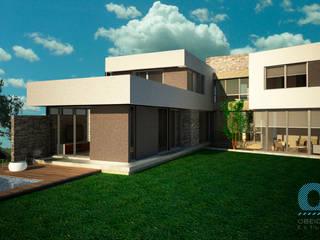 Casa Mutti: Casas de estilo  por OZestudioArq