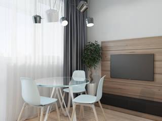 ДОМ СОЛНЦА Salas de estilo minimalista