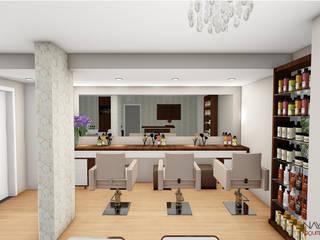 Projeto de interior comercial:   por Nayara Silva - Arquitetura e Urbanismo ,Moderno