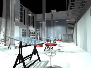 DISEÑO: Edificios de Oficinas de estilo  por ARTIFEX ARQUITECTOS MX SA DE CV