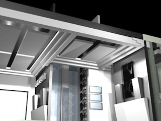 RECEPCIÒN: Edificios de Oficinas de estilo  por ARTIFEX ARQUITECTOS MX SA DE CV
