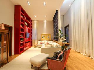 Residência GV Salas de estar modernas por Pavesi Arquitetura Moderno