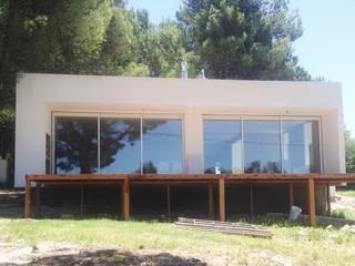 CASA L - VILLA VENTANA - COMARCA TURÍSTICA SIERRA DE LA VENTANA - PROVINCIA DE BUENOS AIRES Casas modernas: Ideas, imágenes y decoración de MSA ESTUDIO DE ARQUITECTURA Moderno