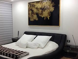 Remodelacion Departamento U Dormitorios minimalistas de DL ARQUITECTURA Minimalista