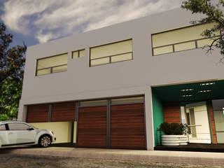 Residencial La Paz Casas modernas de DL ARQUITECTURA Moderno