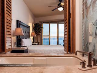 Fotografia Promocional para Condo Hotel Playa Blanca en San Carlos Sonora Hoteles de estilo moderno de Espriú Imagen Creativa Moderno