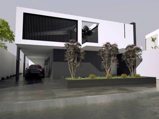 Notaria publica Casas modernas de Studio03 Moderno