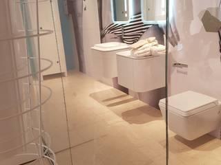 Grassi Pietre srl Casas de banho modernas Pedra