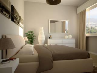 Dormitorios de estilo moderno de MC Ristrutturare Casa Moderno