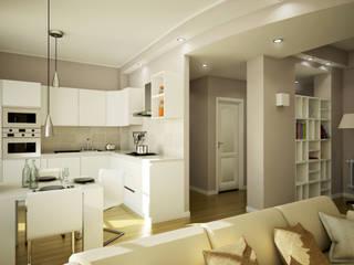 Salones de estilo moderno de MC Ristrutturare Casa Moderno