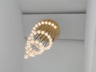 Chandelier Privathaus, Fürstentum Liechtenstein von Supersymetrics GmbH Klassisch
