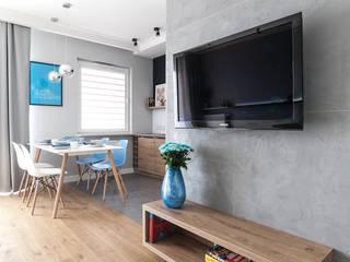 mieszkanie na Żoliborzu 50 m2 od Manekineko Nowoczesny