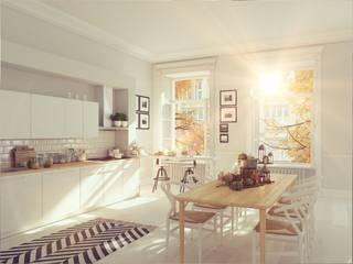 Kelim echte Orientteppiche: moderne Küche von Nain Trading GmbH