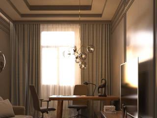 Oficinas de estilo clásico de MC Interior Clásico
