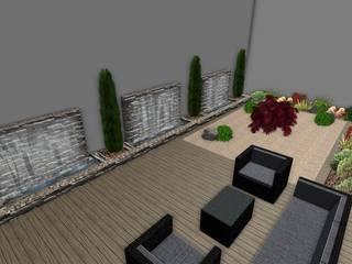 TUZLA VİLLA PEYZAJ PROJESİ // TUZLA VILLA LANDSCAPE PROJECT Modern Bahçe AYTÜL TEMİZ LANDSCAPE DESIGN Modern