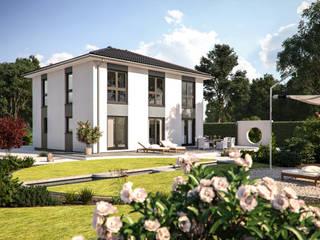 Eos 154 - Gartenansicht: moderne Häuser von Bärenhaus GmbH - das fertige Haus