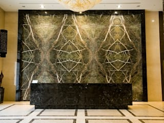 大理石美學 現代房屋設計點子、靈感 & 圖片 根據 石聖石材 現代風
