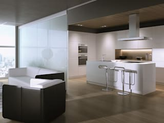 CARE MOBILIARIO MADRID,S.L. KitchenCabinets & shelves White