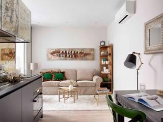 Grandes proyectos en pequeños espacios: Salones de estilo  de Ivory Escapes