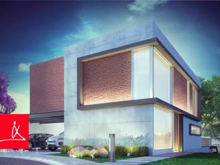 """Casa Residencial """"Haras"""". Fachadas de Casas. de Soy Arquitectura Moderno"""