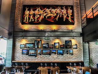 Barriquero Norte: Restaurantes de estilo  por AG arquitectos
