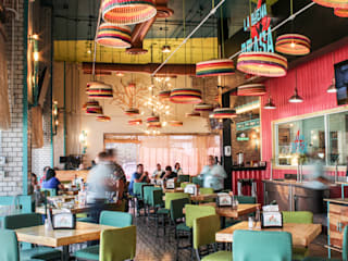La Buena Brasa: Restaurantes de estilo  por AG arquitectos