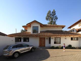 Casa B: Casas de estilo  por Carvallo & Asociados Arquitectos