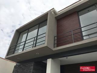 Casa Bijan J-18: Casas de estilo  por Fran | Félix Arquitecto