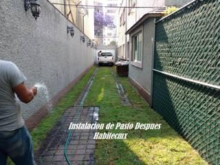 Instalación de Pasto y Jardinería de Habitecmx