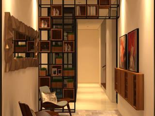 Dempo House Koridor & Tangga Modern Oleh FerryGunawanDesigns Modern