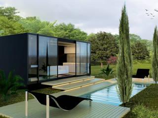 Fantástica Moradia em Betão por Constructive Architecture
