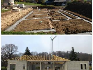 Construction d'une maison traditionnelle à Annecy:  de style  par Archionline