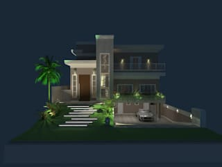 Modern home by AJR ARQUITETURA Modern