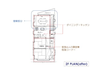 Dining room by 豊田空間デザイン室 一級建築士事務所, Modern