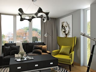 Hampstead, London Modern Oturma Odası Hampstead Design Hub Modern