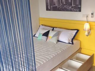 RANAH モダンスタイルの寝室 黄色